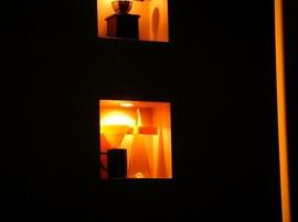 ニッチ,照明,埋め込み